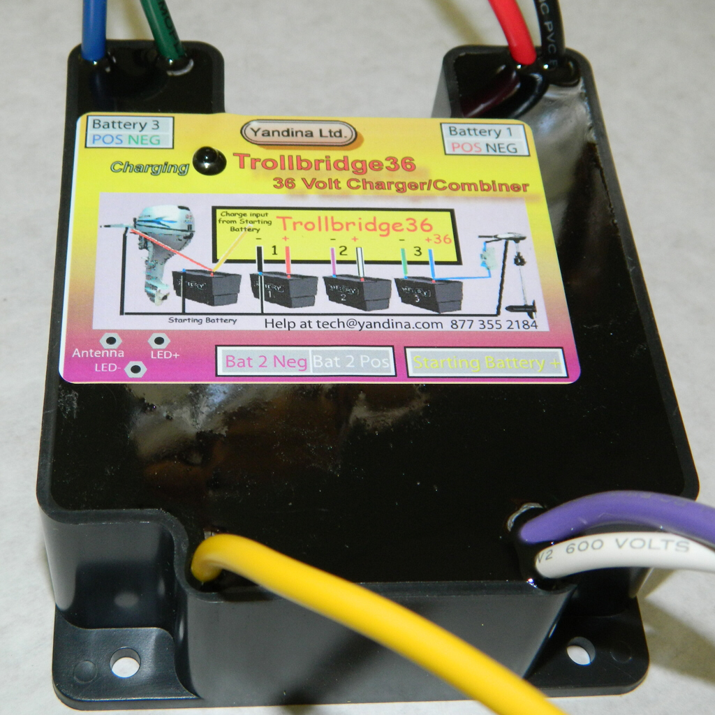Trollbridge36 Information Minn Kota 36 Volt Battery Wiring Diagram